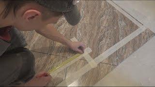 видео Тонкости процесса - режем керамическую плитку