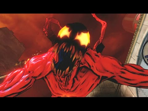 spiderman shattered dimensions level 12 carnage boss