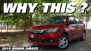 Top 6 reasons to buy the 2018 Honda Amaze | Auto Encyclo | Price, Specifications