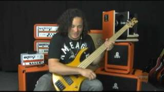 Orange Smart Power Bass Cabinets Demo