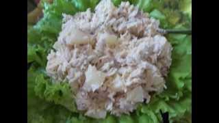 Салат с ананасами или дамский каприз