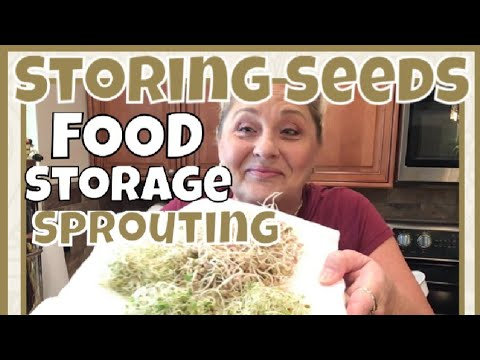 Prepper's: EASY SPROUTING, STORING SEEDS For A