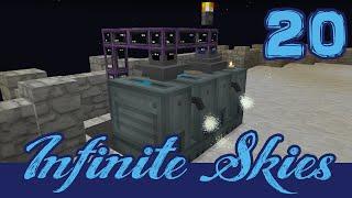 Infinite Skies 20: Fluid Situation! AE2 Fluid Crafting. (FTB Infinity Evolved Skyblock)