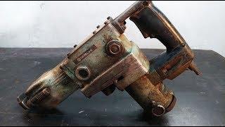 ROTARY Hammer Drill HITACHI Restoration | Disassemble Rotary Hammer DRILL