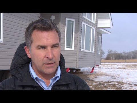 Saskatchewan property owner finds unexpected house parked in his field