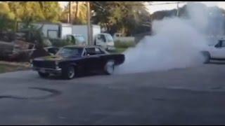1965 GTO Burnout