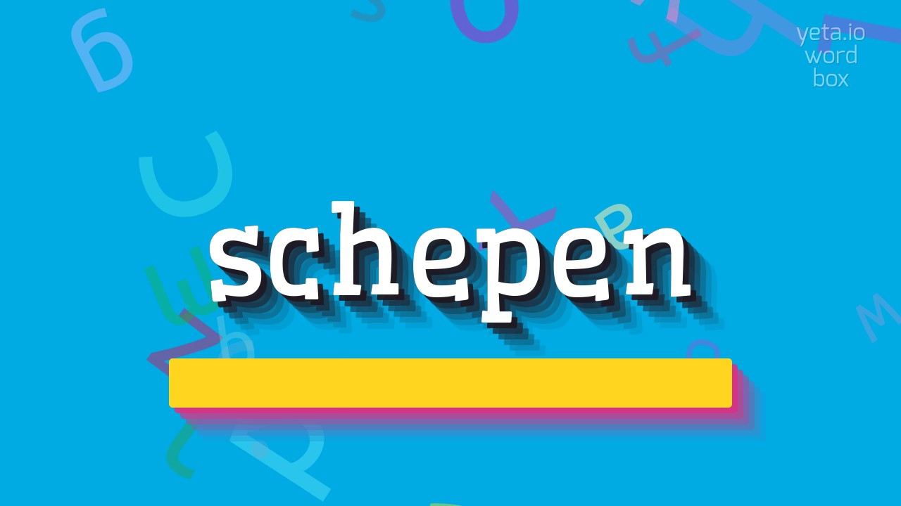 """Download How to say """"schepen""""! (High Quality Voices)"""