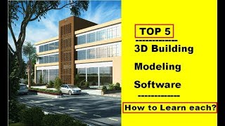 Best Top 5 3d Building Software For Civil Engineer Architect L How To Learn L Hindi L Suraj Laghe