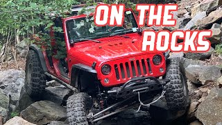 We Take My Jeep Wrangler Rubicon OFF-ROAD!!