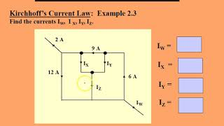 دوائر كهربائية - قوانين كيرشوف