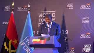 WORLD TOURISM FORUM ANGOLA 2019 - JOÃO MANUEL GONÇALVES LOURENÇO