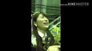NMB48の吉田朱里の紅白選抜選挙6位で感動して涙していてとても嬉しいみ...