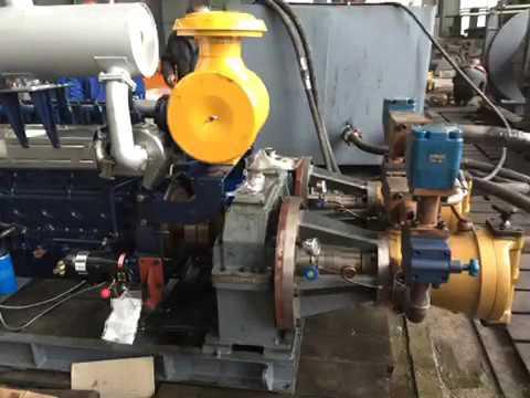 Mooring Winch Engine Testing-----JINBO MARINE SUPPLY