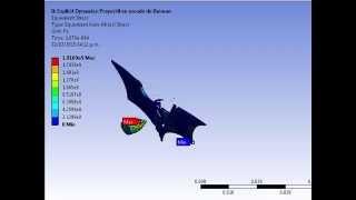 Explicit Dynamics ANSYS. Analisis por elemento finito impacto de un proyectil batman