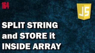 LEARN JAVASCRIPT How to split string into an array