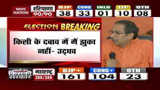 Assembly Election Results 2019: What Uddhav Thackeray Said On CM Post