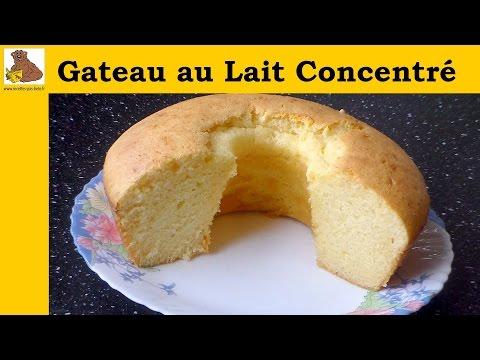 gâteau-au-lait-concentre---recette-rapide-et-facile