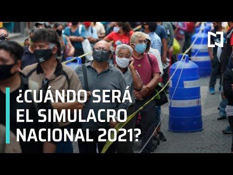 ¿Cuándo será el Simulacro Nacional 2021? - Las Noticias