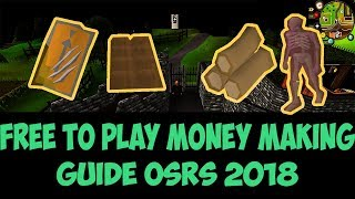 OSRS Free to play money making guide 2018