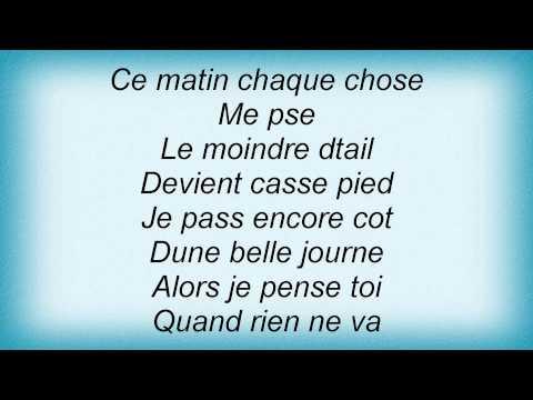 Axelle Red - Je Pense A Toi Lyrics_1
