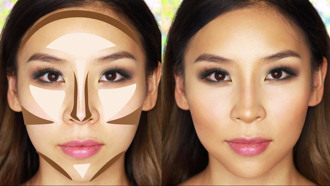 Hướng dẫn make up tạo khối giúp thu nhỏ khuôn mặt