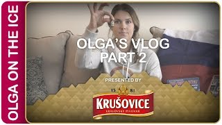 Olga's Vlog part 2 | #IIHFWorlds Pre-Game