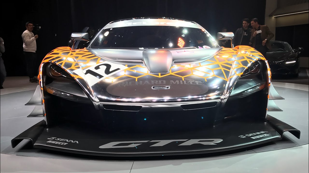 The Fastest Selling McLaren Ever! NEW McLaren Senna GTR