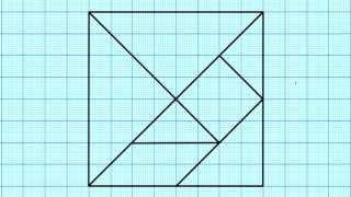 Cómo hacer un Tangram