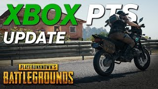 PUBG XBOX Test Server Update (10/11) - New Weapons, Vehicles, Improvements, and So Many Bug Fixes...