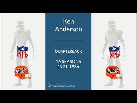 Ken Anderson: Football Quarterback