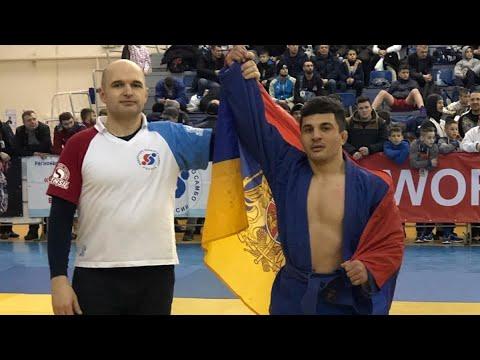 Варшам Геворгян из Армении стал чемпионом мира по боевому самбо