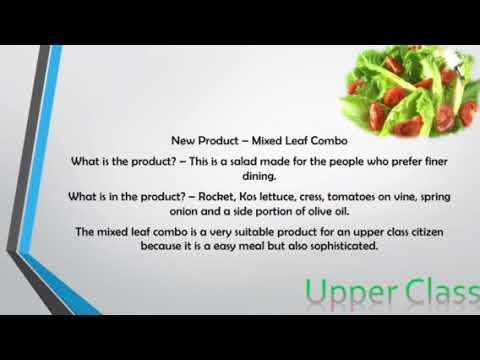 Phoenix Organics - Target Market
