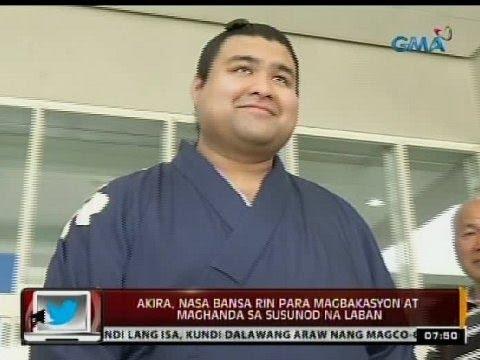 Takayasu Akira 24 Oras Sikat na halfPinoy sumo wrestler na si Takayasu Akira