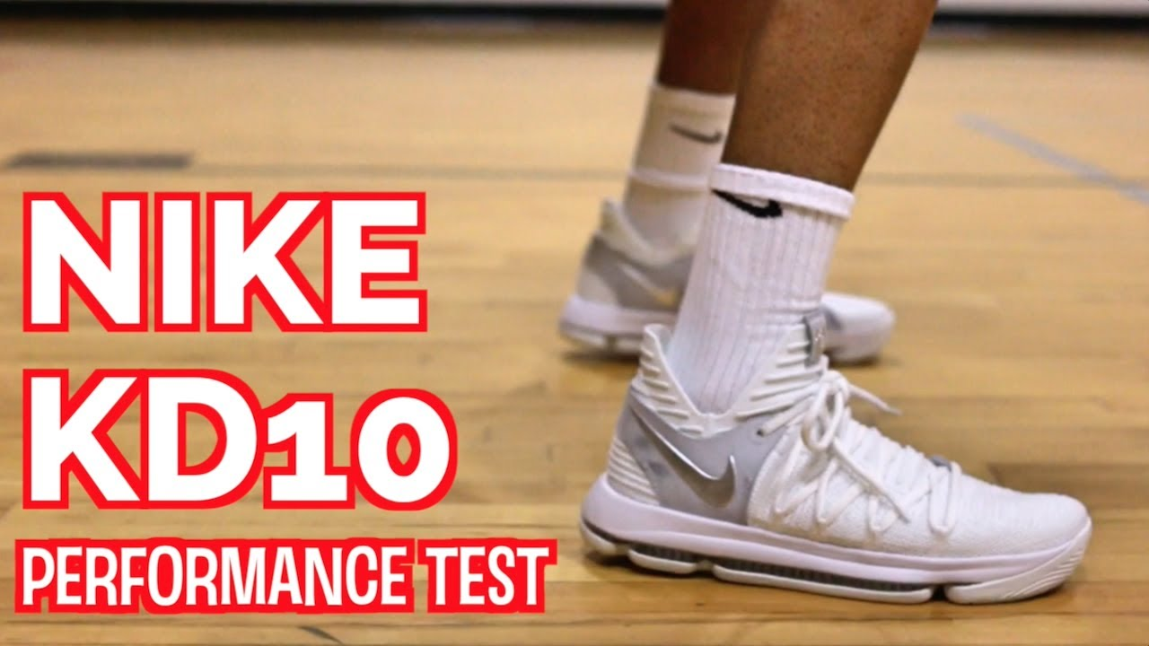 new concept 836d7 c6bb5 NIKE KD 10 PERFORMANCE TEST REVIEW