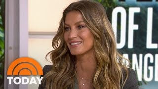 Gisele Bundchen On Preserving Brazil's Rainforest, Parenting With Tom Brady | TODAY
