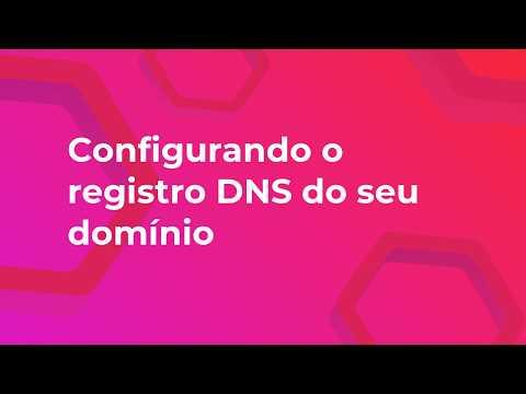 02 - Configurando o registro DNS do seu domínio próprio