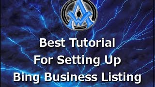 BING LOCAL BUSINESS LISTING SET UP GET LISTED IN BING BUSINESS