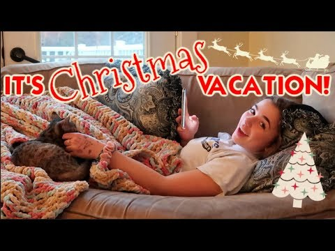 It's FINALLY Christmas Vacation!  *last day of school+ house decorating*
