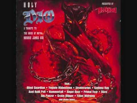 Angel Dust - temple of the king (tribute to Dio)