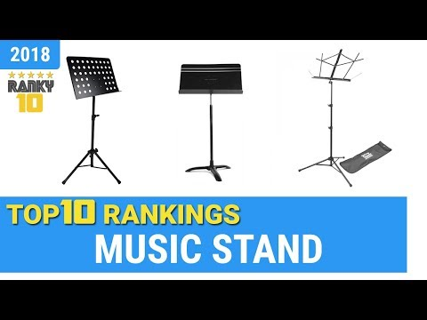 Best Music Stand Top 10 Rankings, Review 2018 & Buying Guide