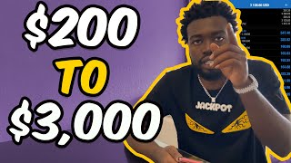 $200 TO $3,000 IN 3 DAYS TRADING FOREX IN 2020!!