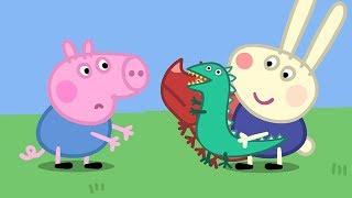 Peppa Pig Português Brasil Brasil Coelhinho | Compilacao de episodios | Desenhos Animados