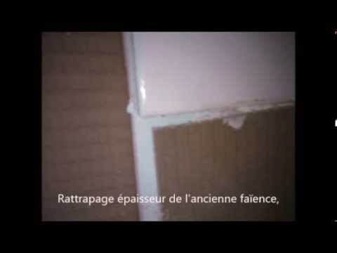 refaire une fa ence de salle de bain youtube. Black Bedroom Furniture Sets. Home Design Ideas