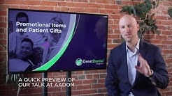 Marketing Tip for Dentists #3 | Ideas for promotional items and patient gifts