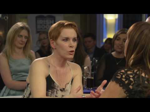Backstage interview with Tana French, winner of the Books Are My Bag Crime Fiction Award