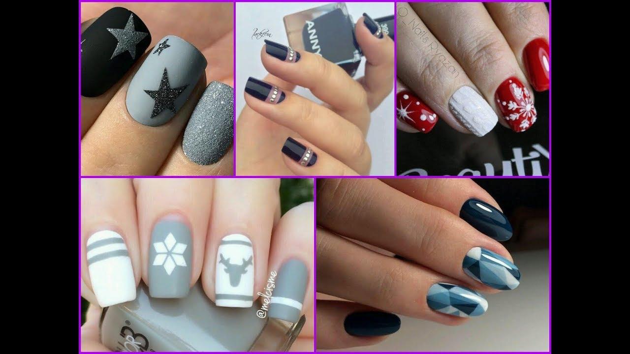 Beautiful Winter Nail Art Designs Compilation - Beautiful Winter Nail Art Designs Compilation - YouTube