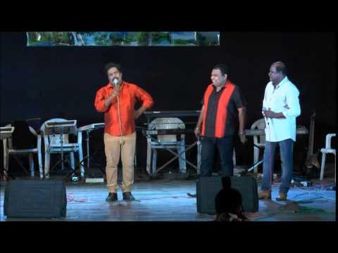 Comedy - Binu Adimali, Subash Kollam, Saji Ochira, Sumesh Thambi team live performance for Ybrations