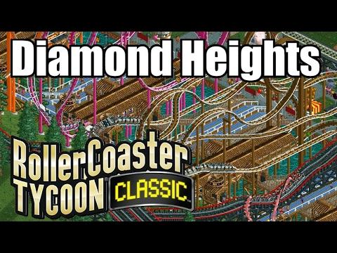 Roller Coaster Tycoon Classic - Diamond Heights