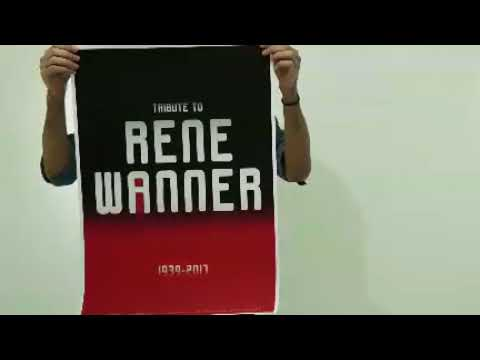 'Union of Designers' International Invitational Poster Exhibition The commemorate of Rene Wanner