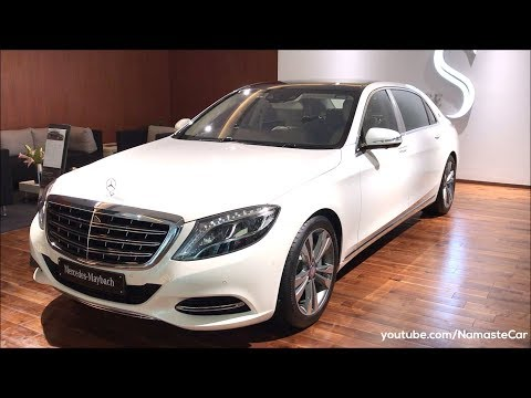Mercedes-Maybach S 500 2017   Real-life review
